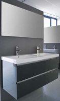 De kamer van badhandel badmeubel trend antraciet 120 - Kleur wc trend ...