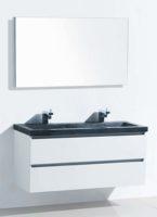 De kamer van badhandel badmeubel stone wit 120 - Kleur wc trend ...