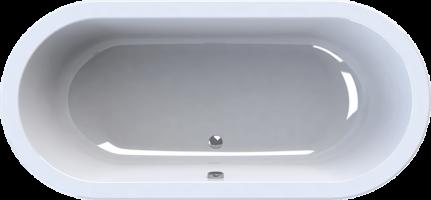 Ligbad wave design ontwerp inspiratie voor uw badkamer meubels thuis - Ligbad in het midden van de kamer ...