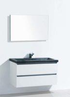 De kamer van badhandel badmeubel stone wit 80cm - Kleur wc trend ...