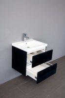 De kamer van badhandel badmeubel trend keramiek antraciet 60cm - Kleur wc trend ...