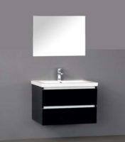 De kamer van badhandel badmeubel trend keramiek antraciet 80cm - Kleur wc trend ...